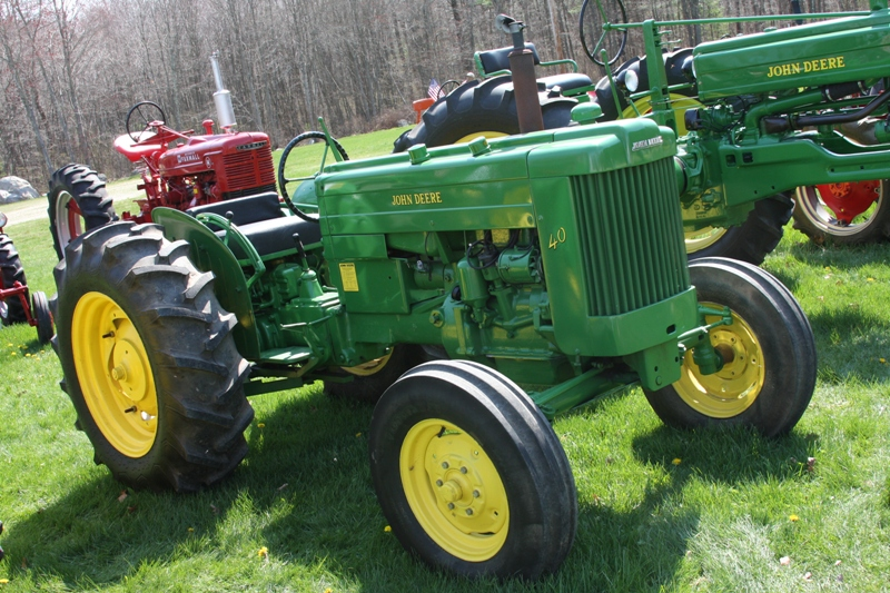 Old John Deere Tractor Parts : Old john deere tractors for sale