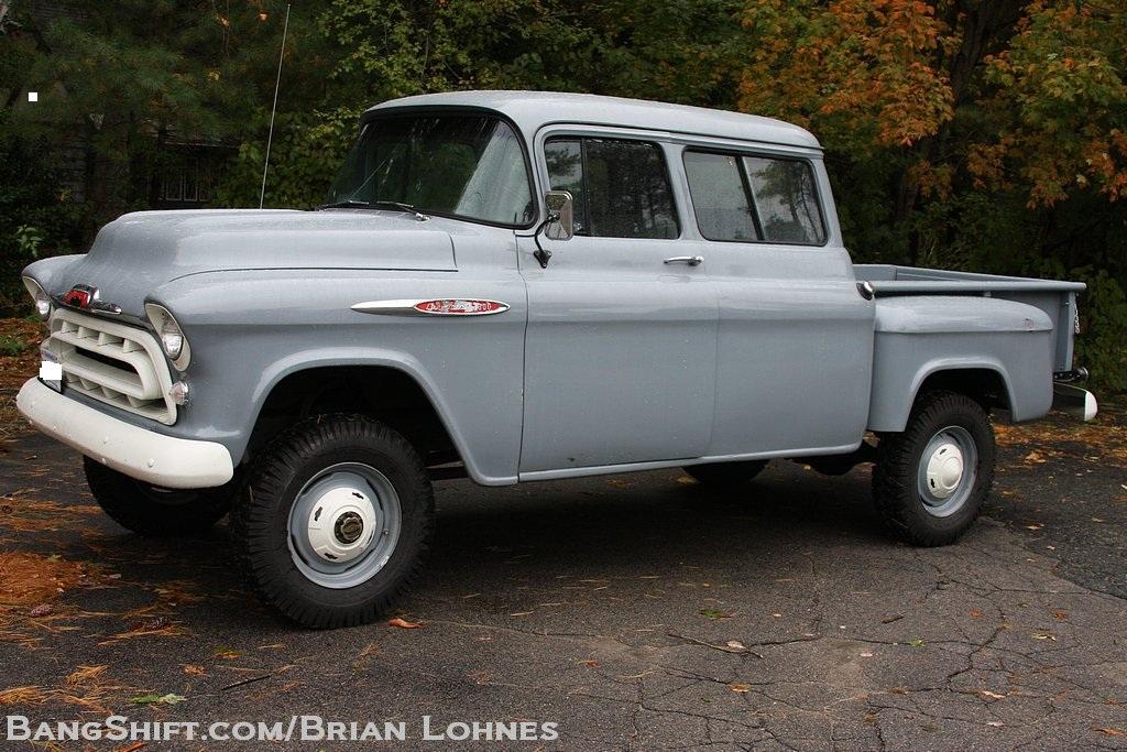 BangShift.com 1957 Orrville NAPCO Crew Cab Chevy Truck ...