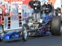 2012 March Meet Dragster and Altereds Action