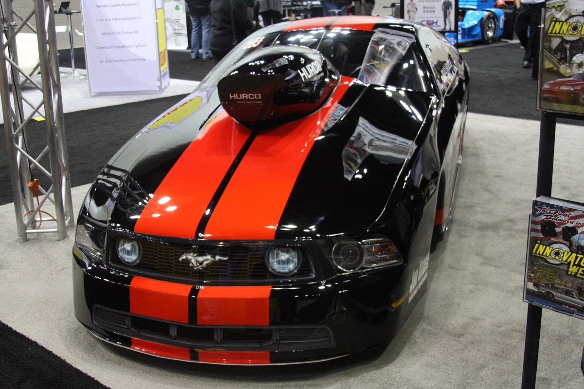 BangShift.com Performance Racing Industry Show 2015 cool cars engines
