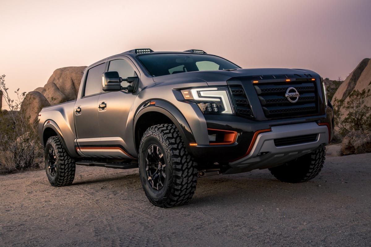 Custom Nissan Titan >> BangShift.com Nissan debuts the Titan Warrior concept