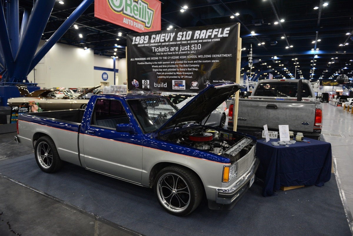 BangShift com 2018 Houston Autorama drag racing muscle car