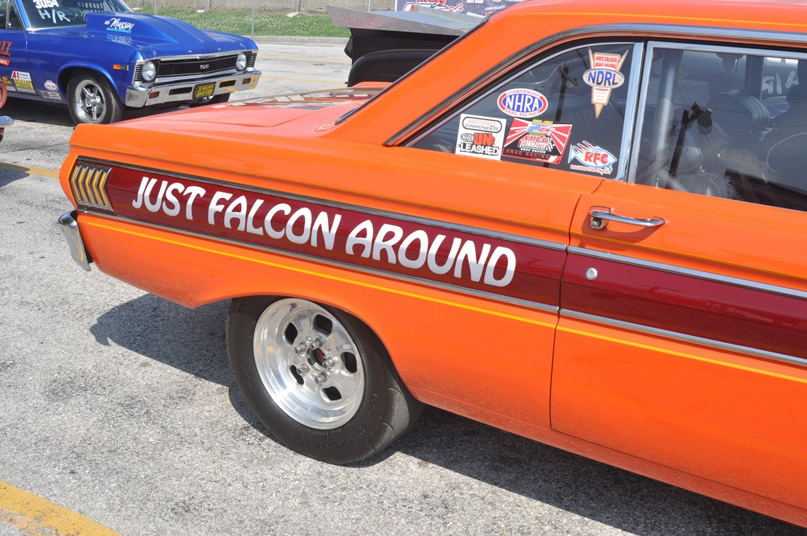 23 Cars With Cool Names At The 2014 Holley NHRA National Hot Rod Reunion