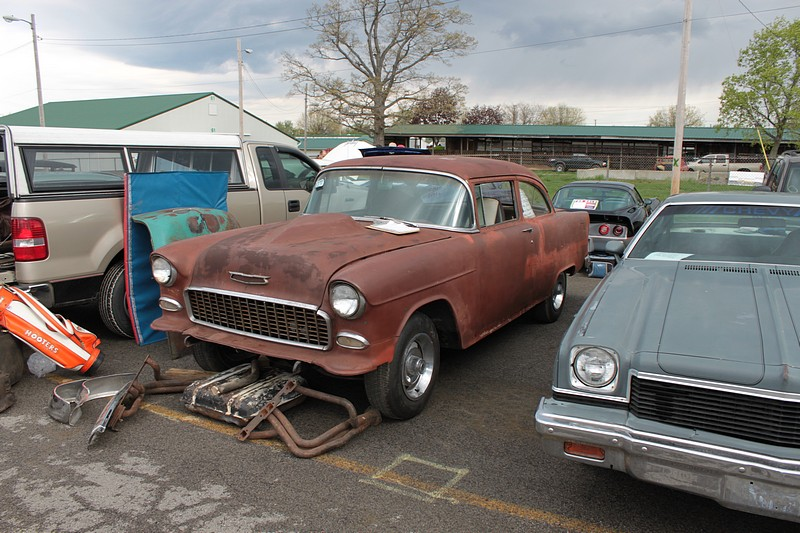Canfield Swap Meet >> History - looking for old 55 chevy. still doing time 55 ...