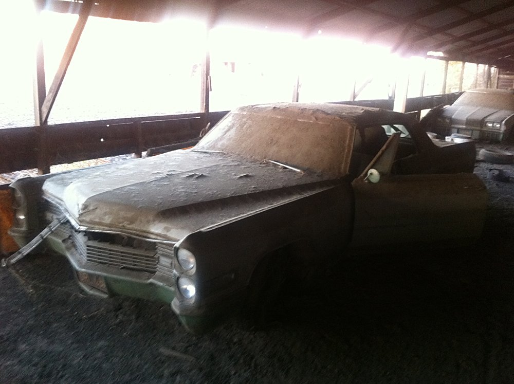 Barn Find Stash Of Cars 002