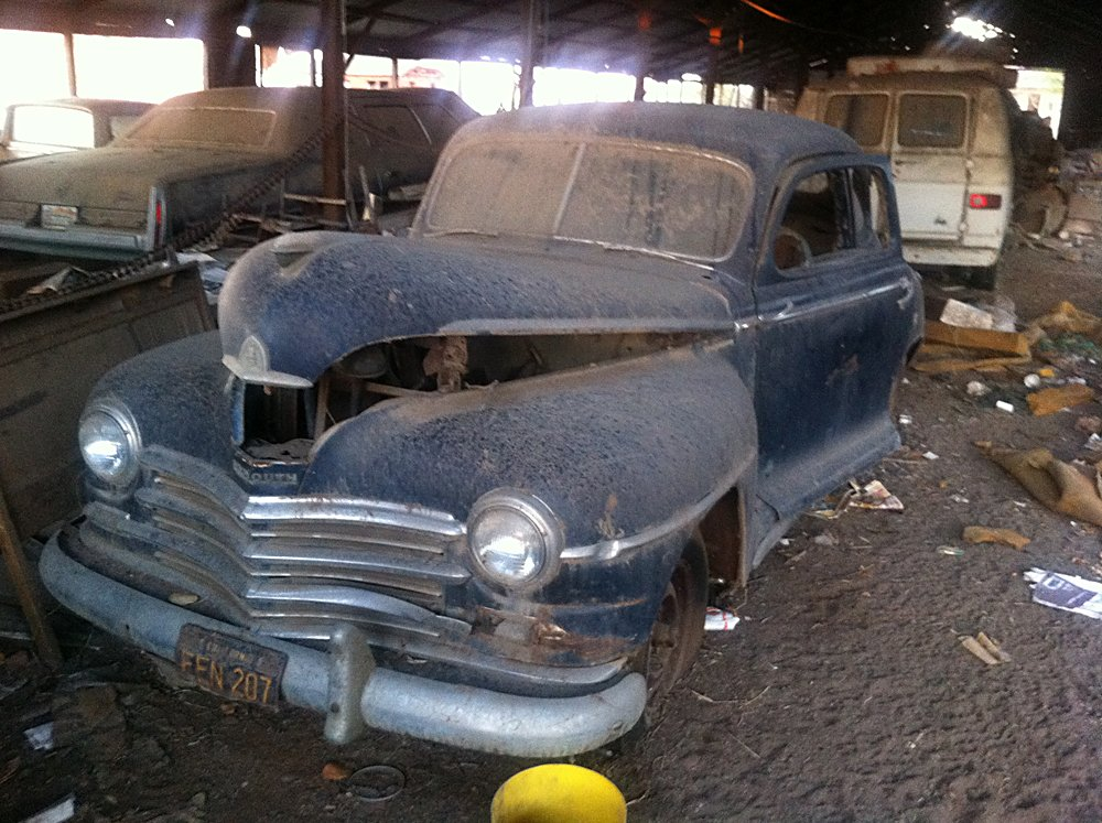 Barn Find Stash Of Cars 012