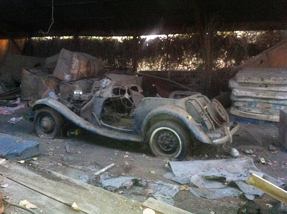 Barn Find Stash Of Cars 019