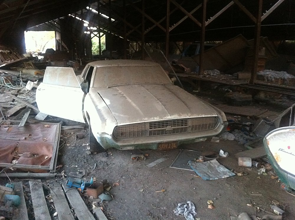 Barn Find Stash Of Cars 020