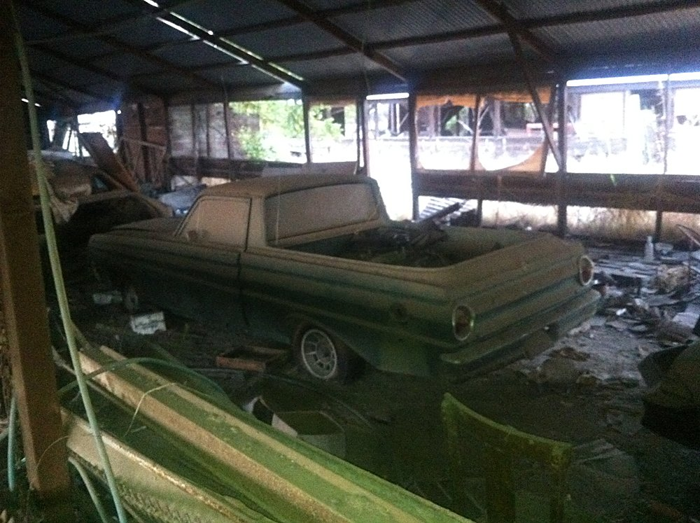 Barn Find Stash Of Cars 024