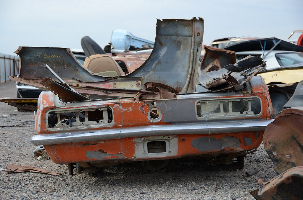 BangShift com Desert Valley Auto Parts Junkyard Tour