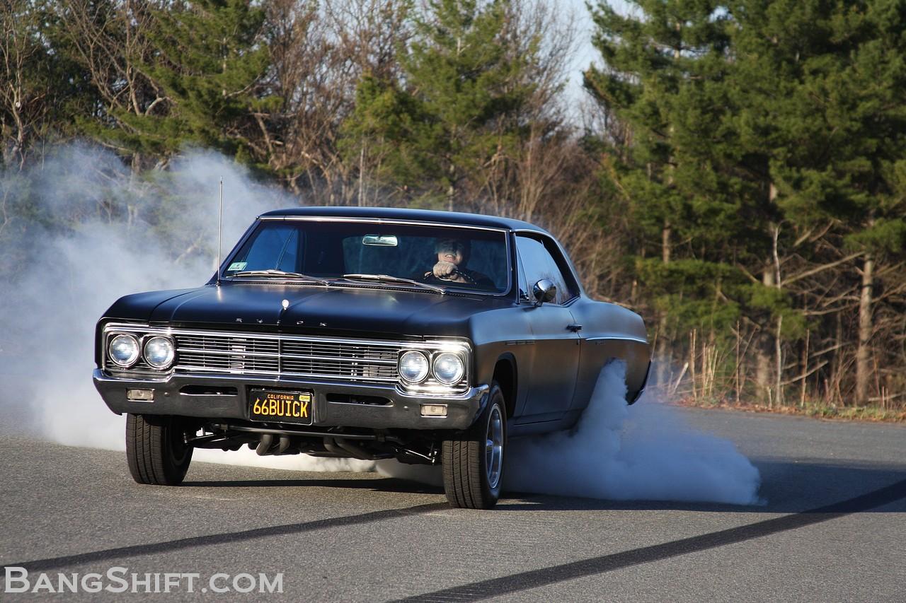 Bangshift Buick Special Muscle Car Big Block Hot Rod Black