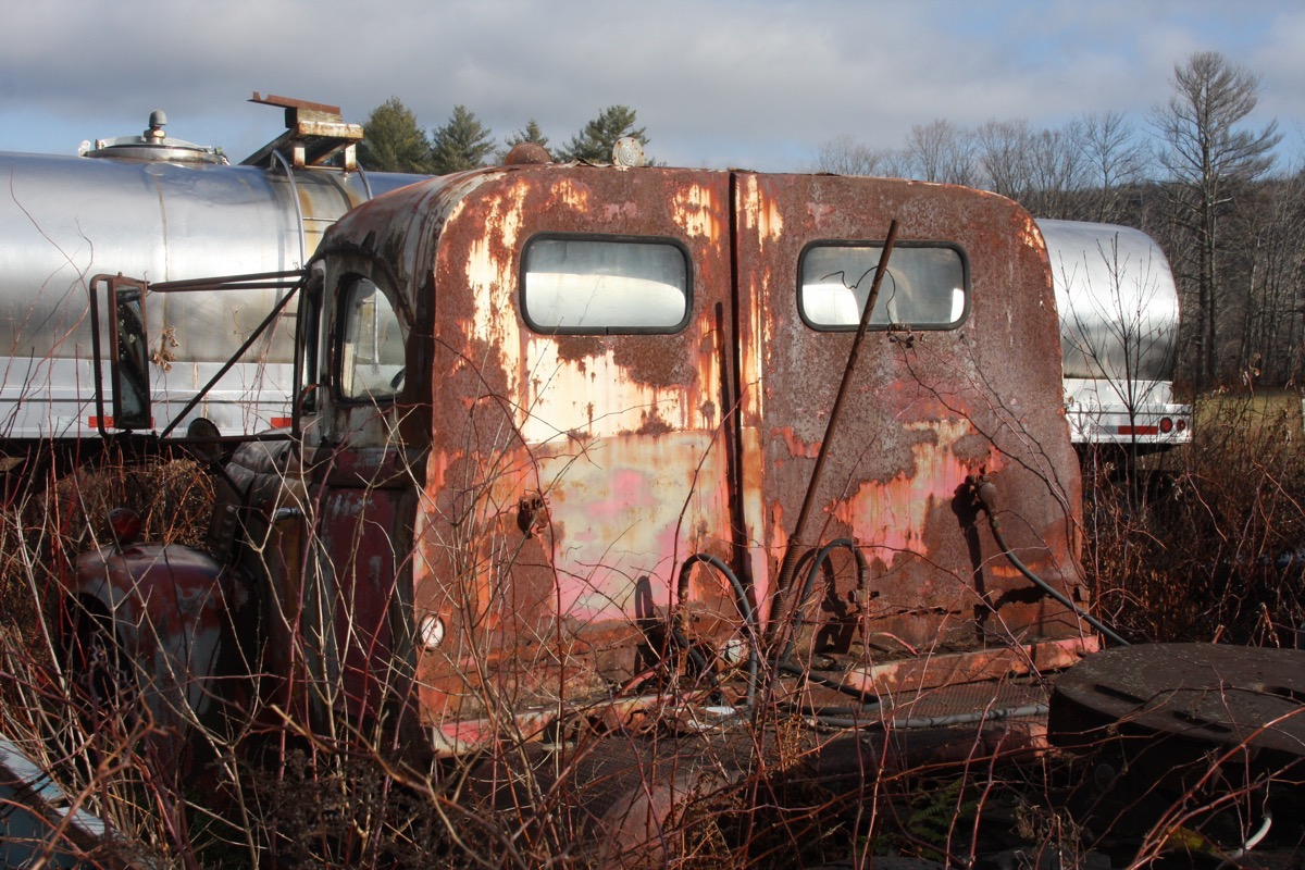 BangShift.com Gates Auto Salvage Tour: More Haunting Visions From ...