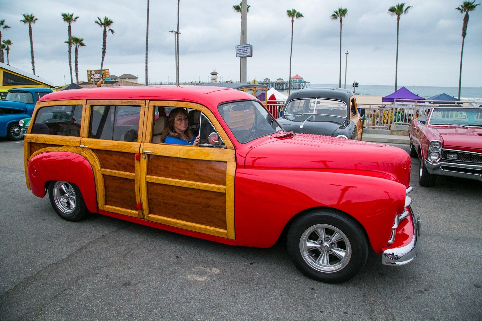 BangShiftcom Woodies Every Woody At The Beachcruiser Car Show At - Car show huntington beach