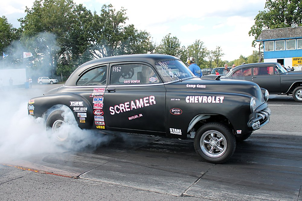 Muscle Car Burnouts And Drag Races