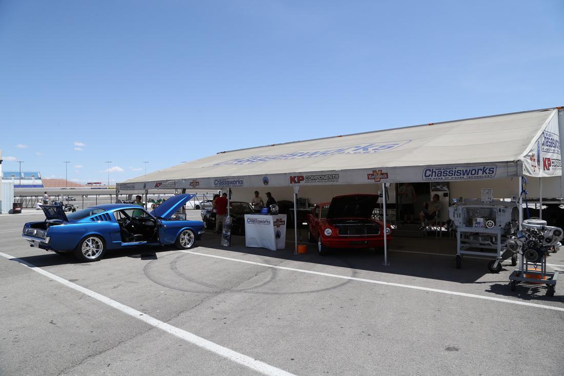 Mustang 50th Birthday Party At Las Vegas