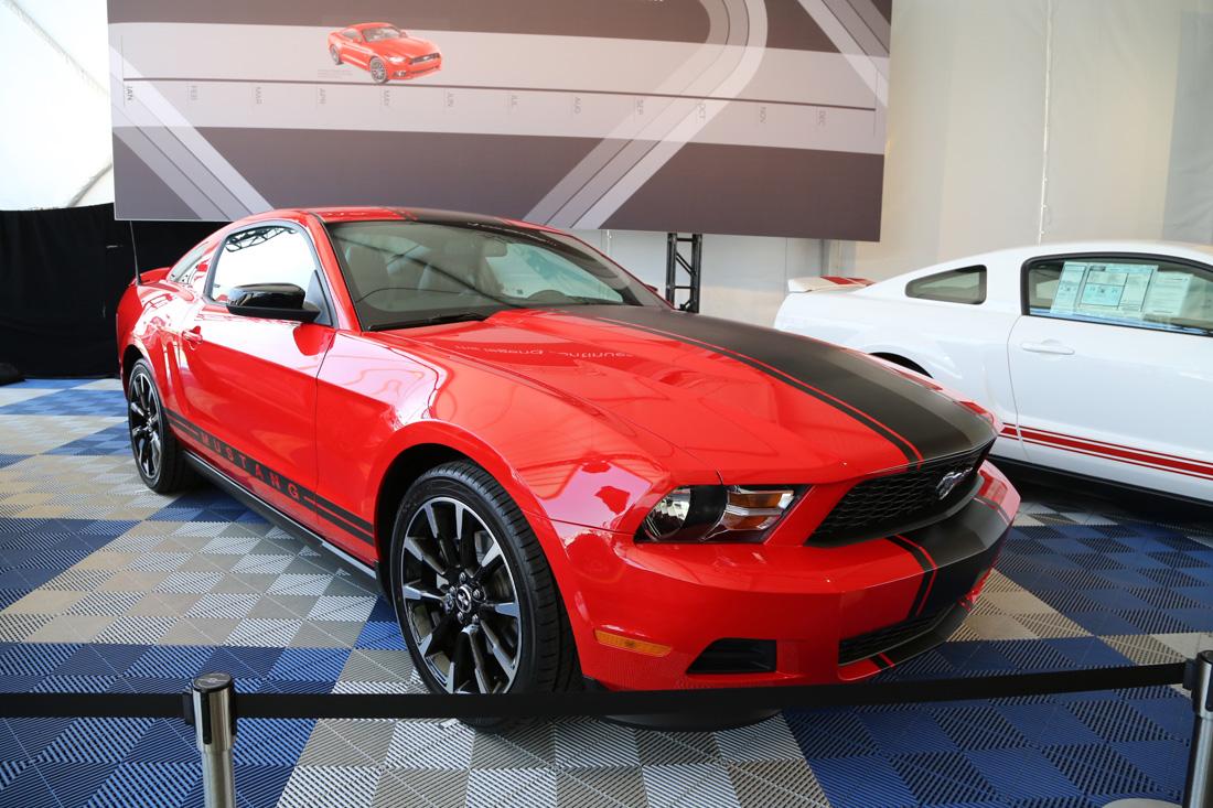 Mustang 50th Anniversary Event Las Vegas