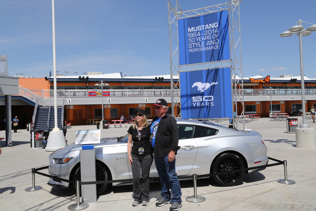 Mustang 50th anniversary event las vegas for Las vegas motor speedway events