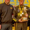 Pro Stock winner Jeg Coughlin with owner Richard Freeman MIKE0096