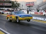 NHRA Winternationals Wheelstanding Door Cars Thursday 2012