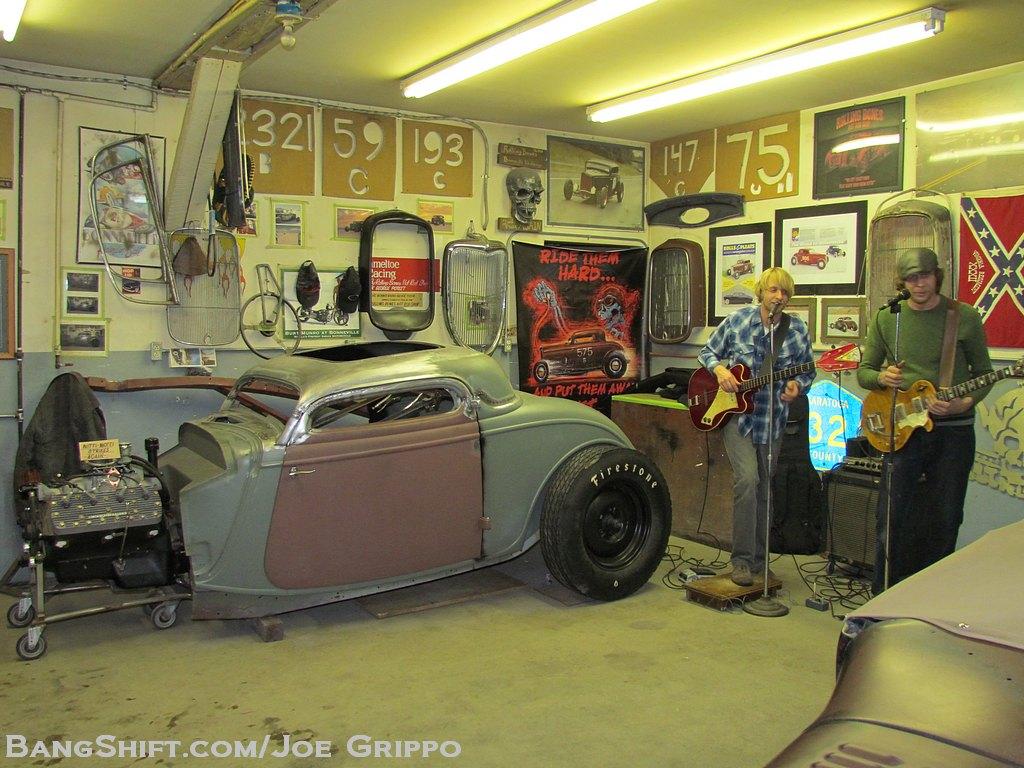 Bangshift Com Gallery Rolling Bones Hot Rod Shop Garage