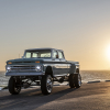 Rtech-1966-chevy-ponderosa-crew-cab-front-sunset