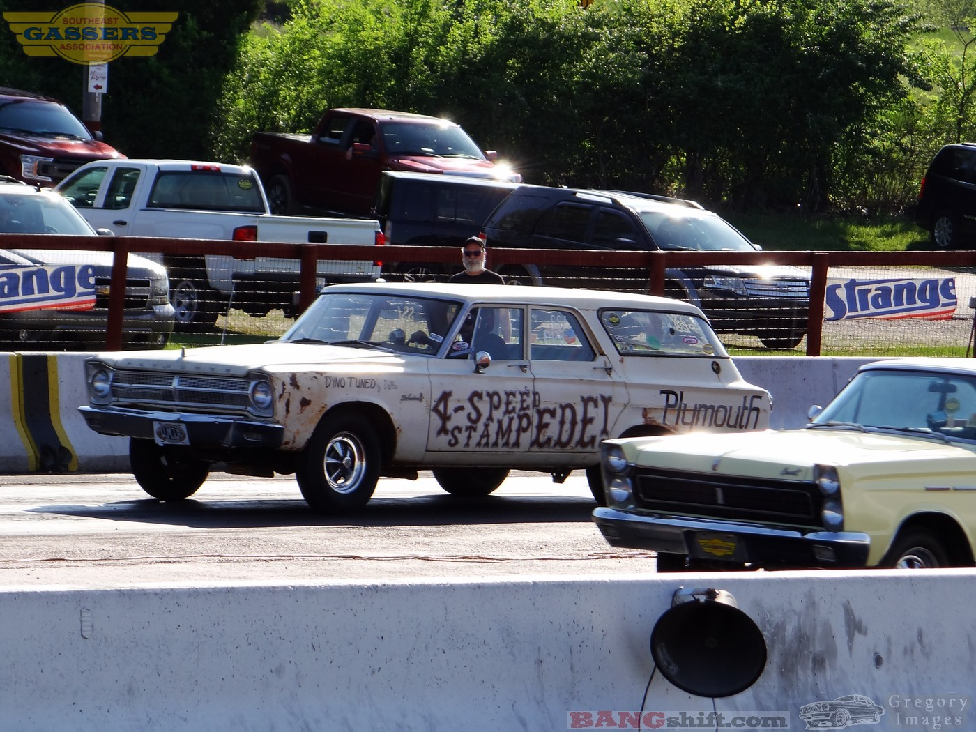 BangShift com Southeast Gassers Super Stock Action Photos drag racing