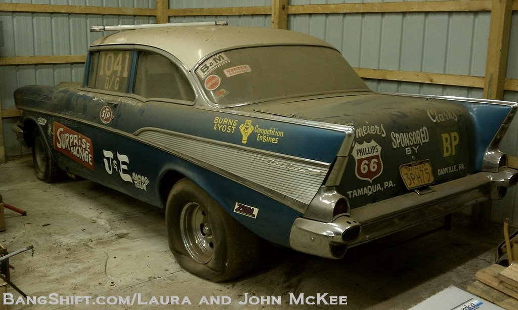Search Cars: BangShift.com Gasser Barn Find: The Surprise Package 1957