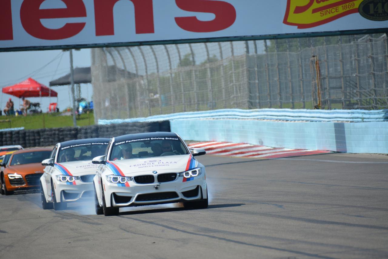 Tudor United Sports Car Racing Action From Watkins