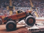 Vintage Monster Truck Photos From The Garrett Coliseum 1
