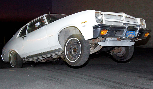 Jumping the '73 Ventura