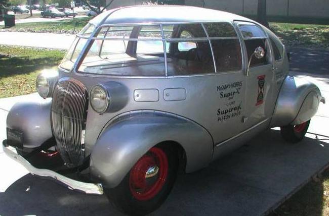 1934 McQuay Norris Streamliner