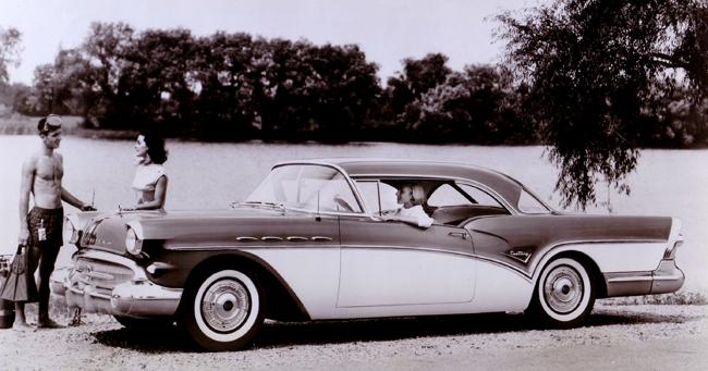 1957 Buick Century press photo