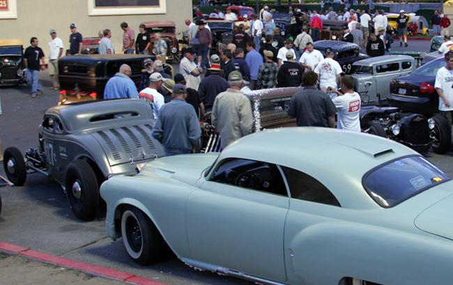 Hot rods at 2009 Bonneville Speed Week
