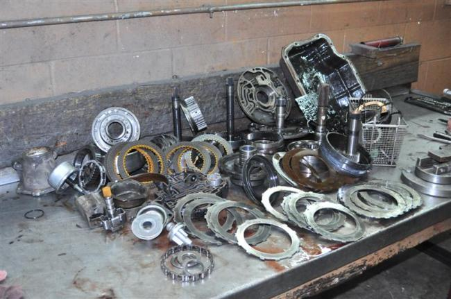 400 Turbo Transmission >> Bangshift Com It Came From The Forums Turbo 400 Rebuild Step By