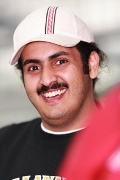 It's Good to be the Sheik: Al-Anabi Team Owner Sheik Khalid bin Hamad Al-Thani Drives F1 Car