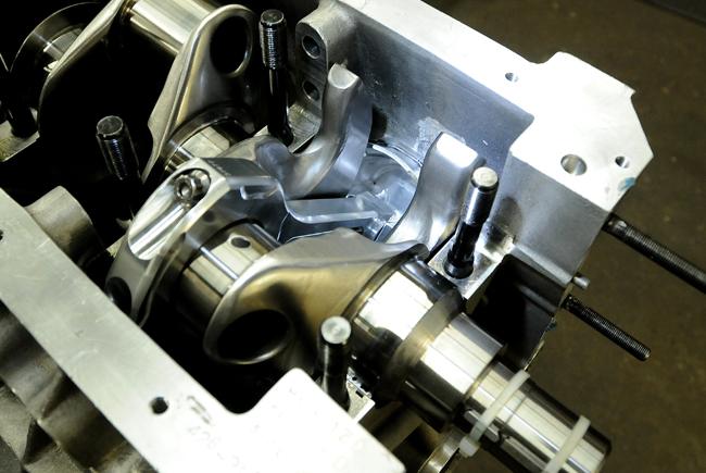 5-inch-stroke Hemi crank