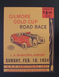 Gilmore poster