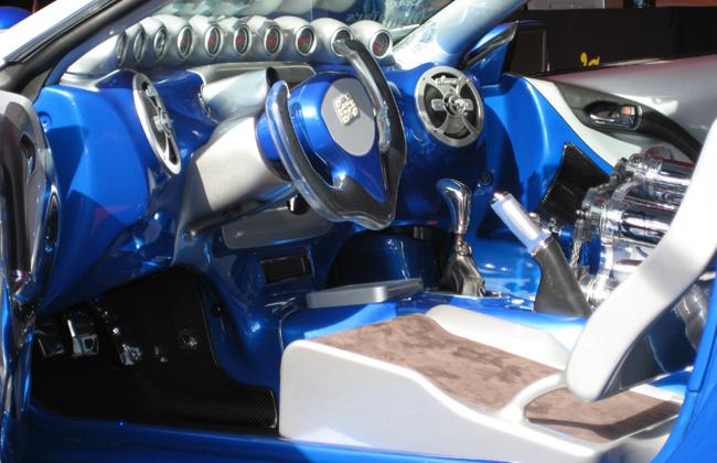 Sport compact interior overkill