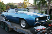 BangShift.com Project Car: The 1969 Camaro Convertible comes home!