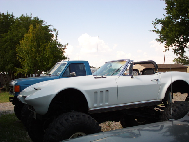 1966 Corvette 4x4 4 wheel drive Trar