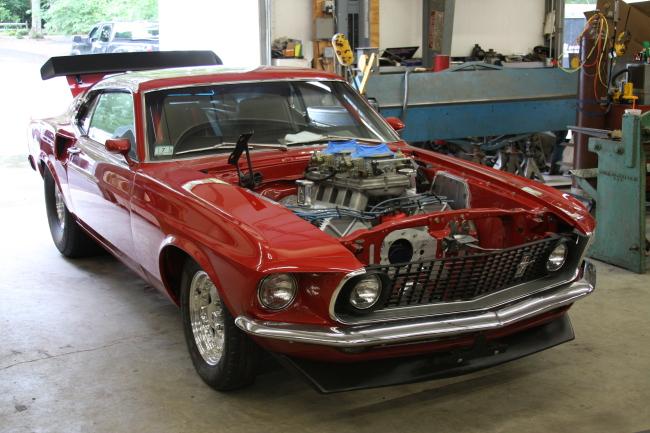 Ford Mustang Hemi >> Bangshift Com Ford Mustang Personality Test Hemi Powered 69