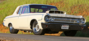 Car Feature: 800 Horsepower 1964 Dodge 330 by Renteria Bros.