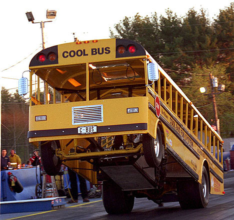 Cool Bus wheelstander