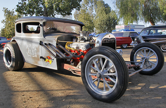 Hot rod at the 2009 March Meet