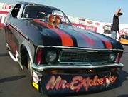 Video: Vintage Nitro Funny Cars from the 2009 March Meet