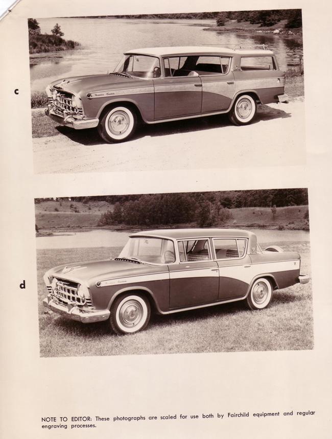 1957 Rambler press photo