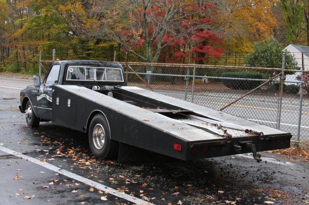 Bangshift Com Roadside Find Killer 1972 Chevy Ramp Truck