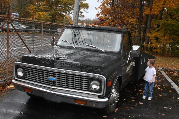 Kids dig ramp trucks!