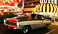 Video and Feature Story: Larry Larson's 6-Second Drag Week Nova Cruising the Vegas Strip