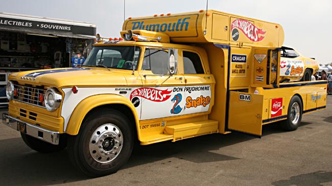 Don Prudhomme Dodge Funny Car hauler